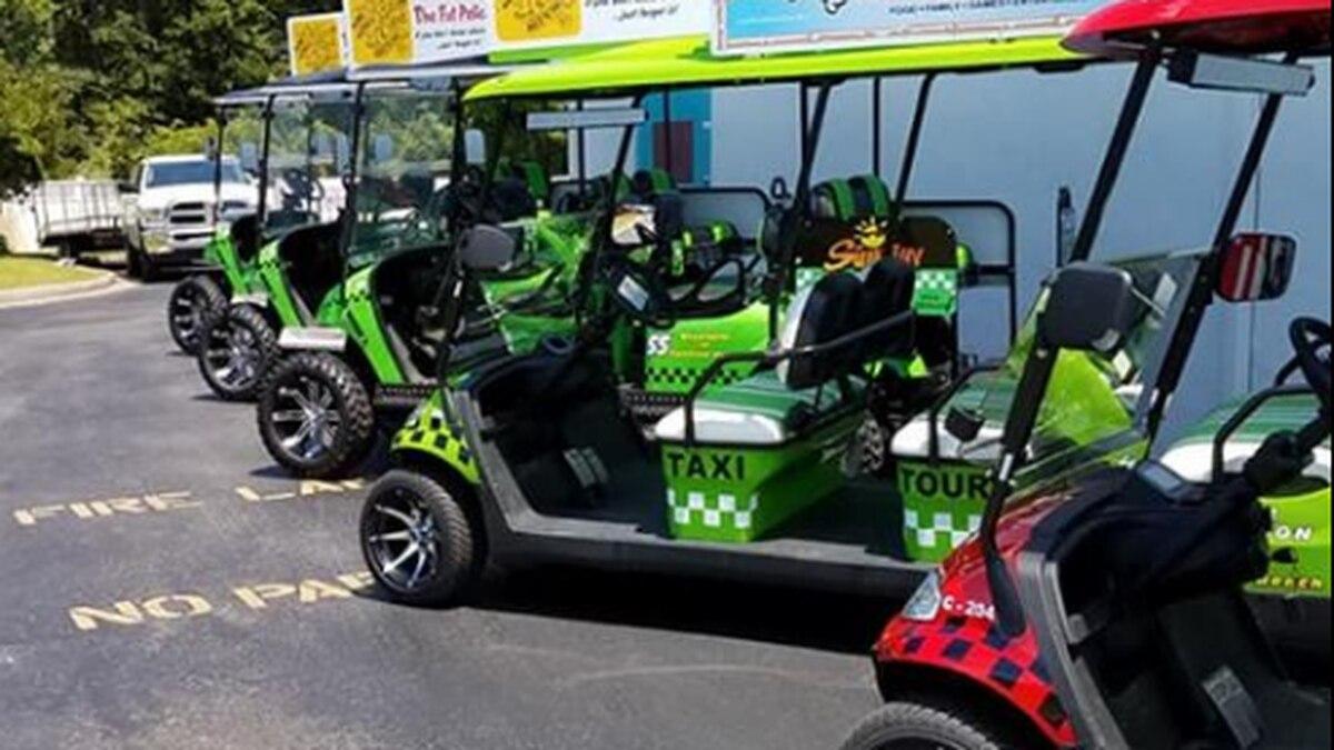 Golf cart rentals to roll into Kure Beach