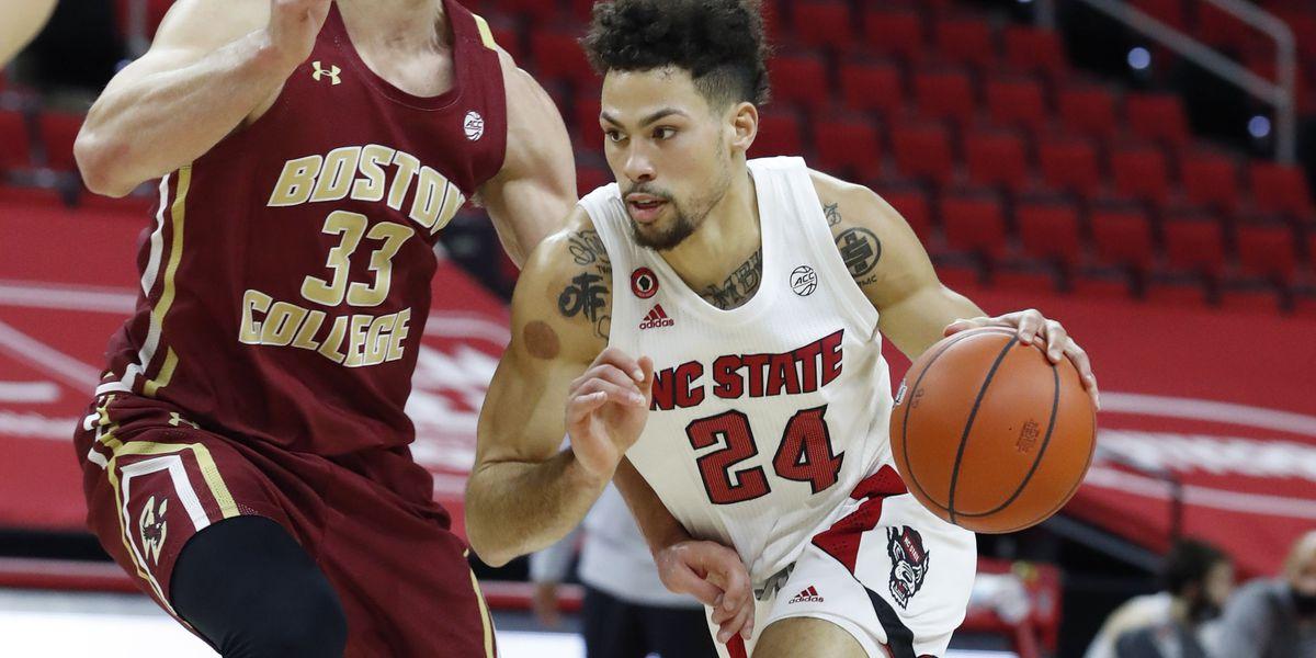 N.C. State overcomes lull, beats Boston College 79-76