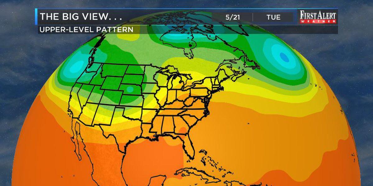 First Alert Forecast: mild midweek but very summery soon