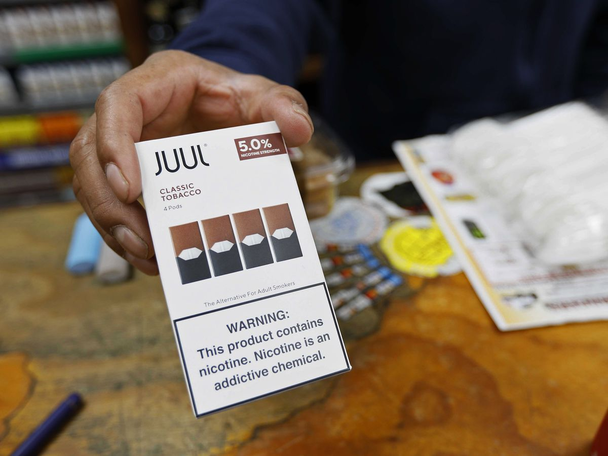 California sues e-cigarette maker Juul over ads, youth sales