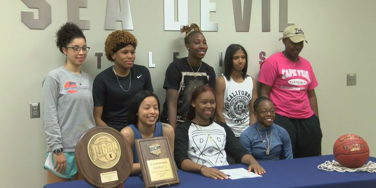 CFCC's Imani Parr signs with Columbia College