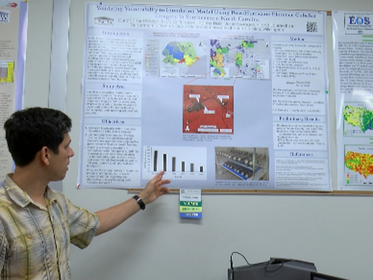 UNCW grad student hopes his Florence research will benefit future flood preparation