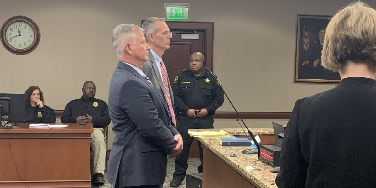 Governor removes suspended Florence Co. sheriff from office after guilty pleas