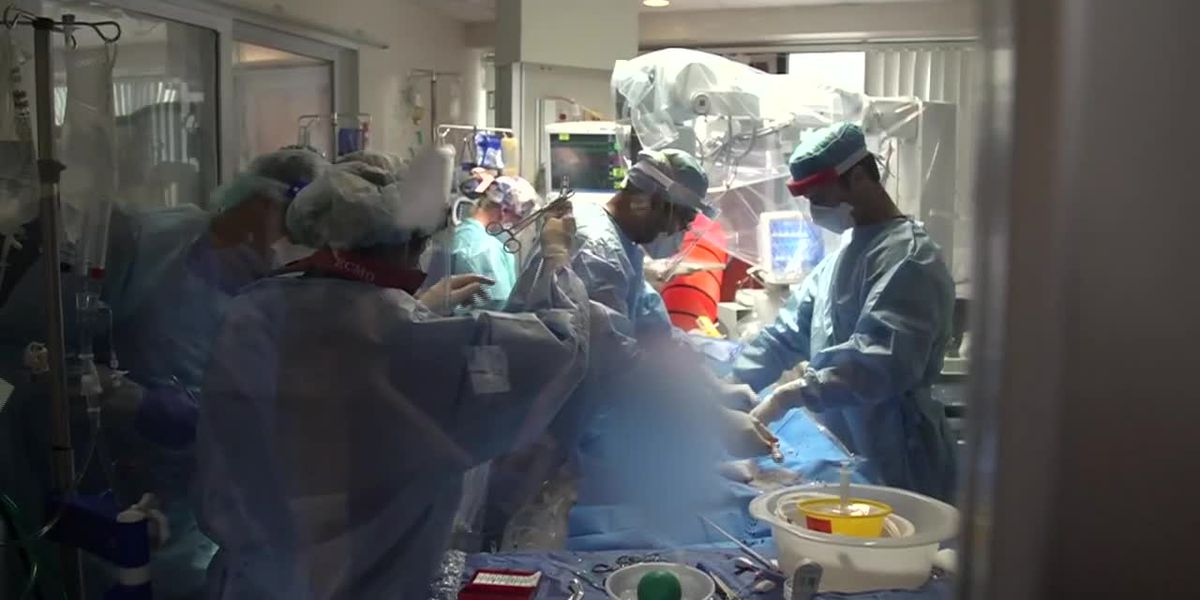 Texas hospital is overwhelmed by COVID-19 patients