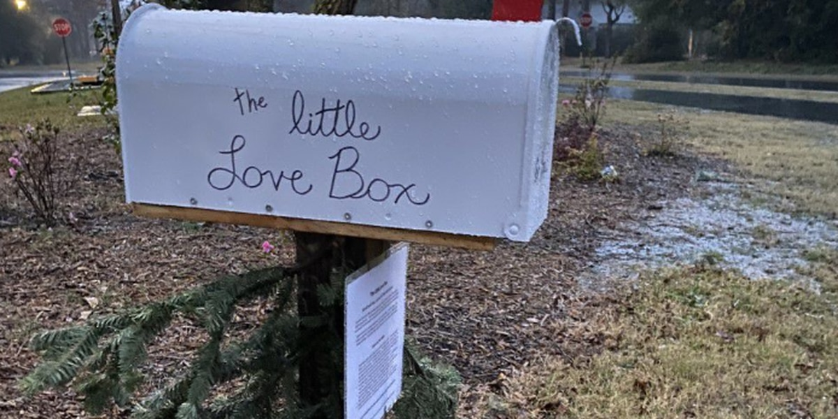 """Little Love Box"" shares letters of hope"