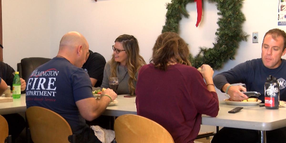 Wilmington FD celebrates Christmas together