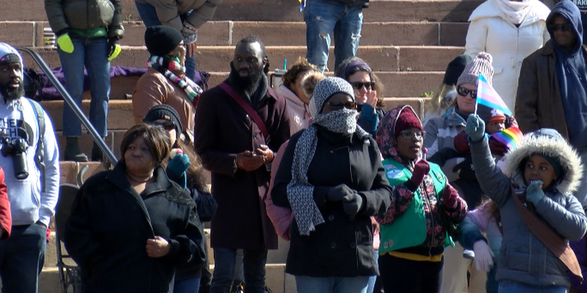 Hundreds come together for Martin Luther King Jr. parade