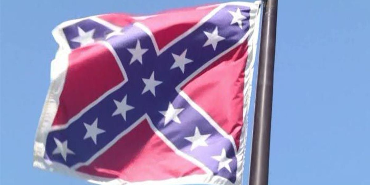 Group looking to ban Confederate flag in public places
