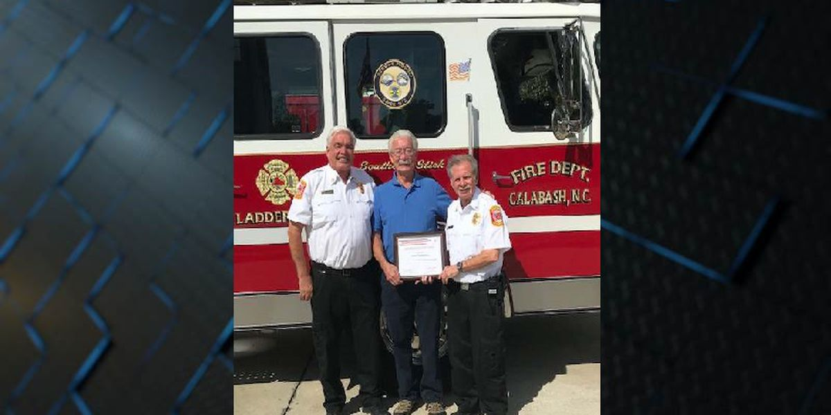 Calabash Fire Department celebrates $2,300 fire prevention grant