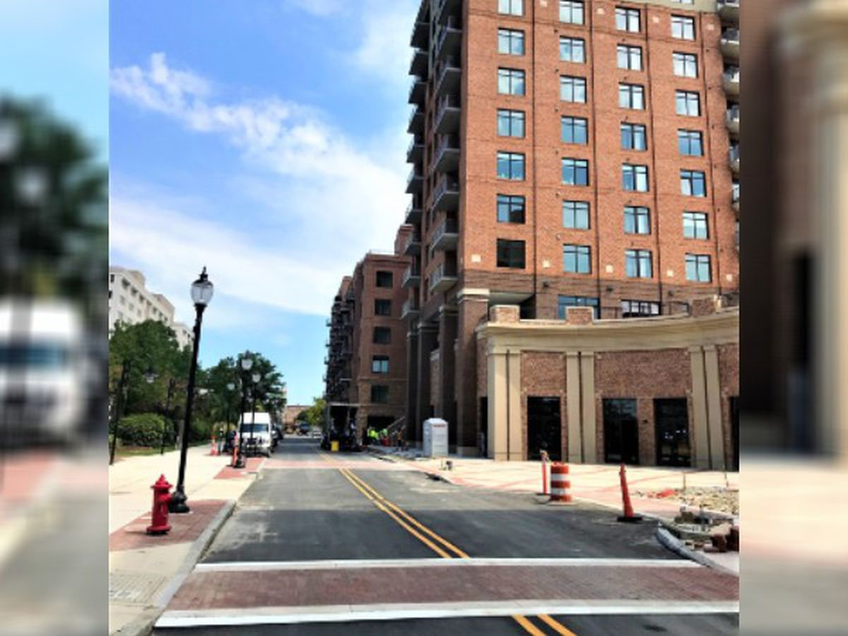 Downtown's Water Street project reaches new milestone