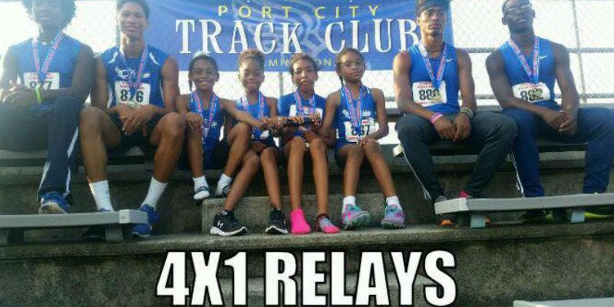 Port City Track Club captures 13 medals at State Games