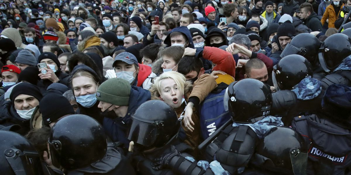 Kremlin: US comments on protests support lawbreaking