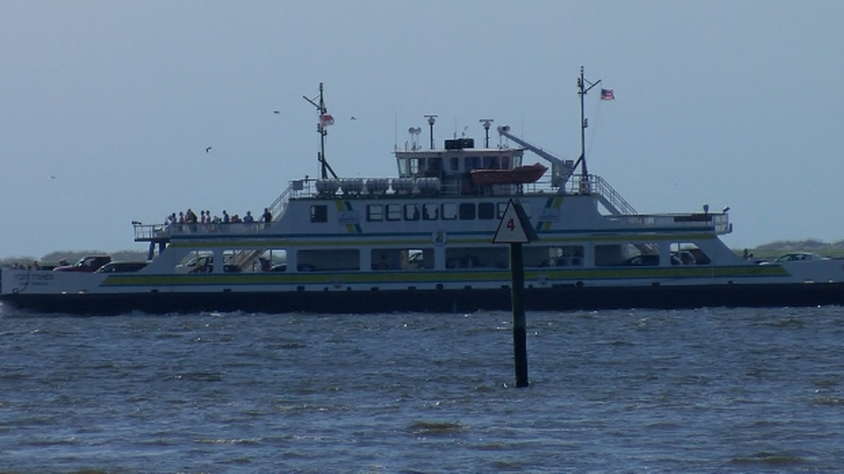 Southport-Fort Fisher ferry route to close for three months for ramp replacement