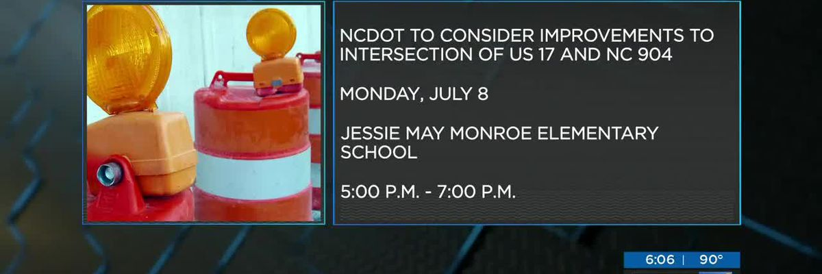 Public meeting about Brunswick Co. intersection scheduled for July 8