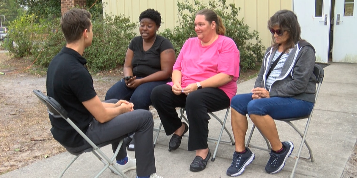 Families still in shelters after Hurricane Florence describe life inside: 'It's a love-hate relationship'