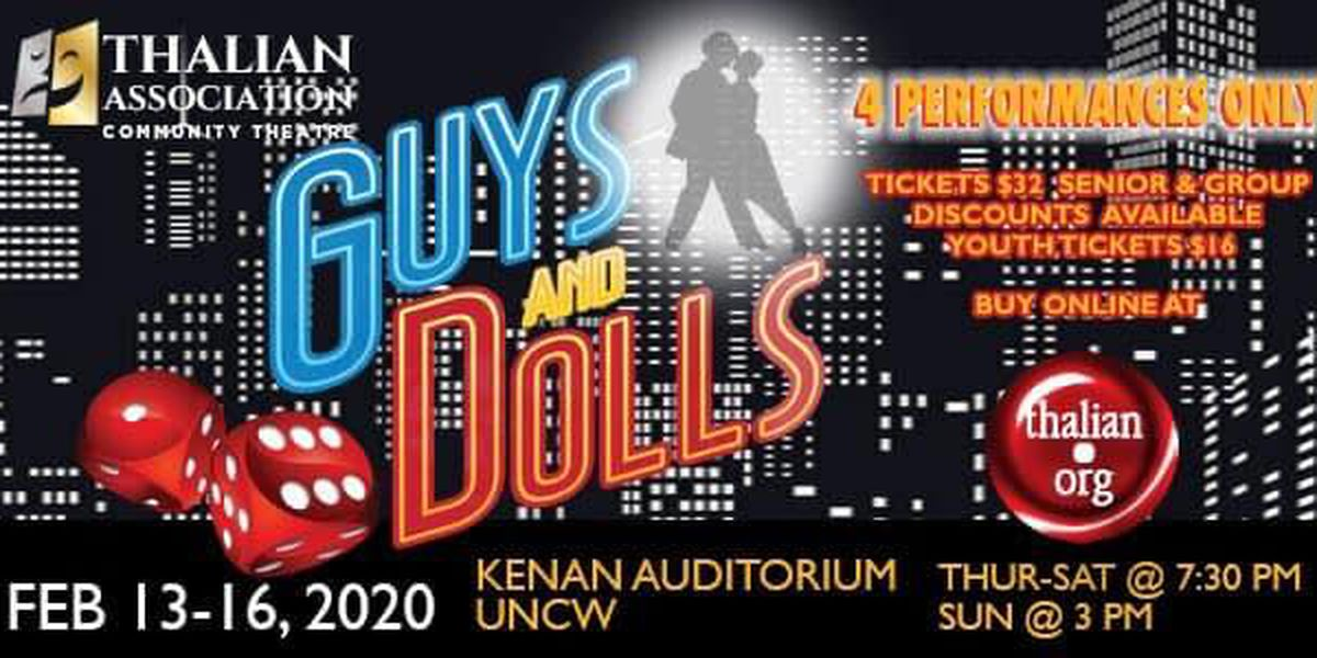 Perfect for date night: Fan favorite, 'Guys & Dolls', on stage Valentine's Day weekend at UNCW