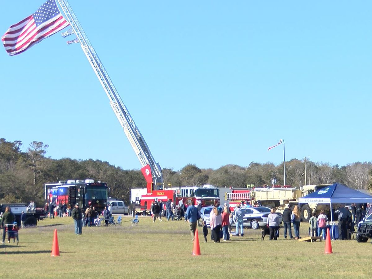 Local law enforcement holds Public Safety Day in Kure Beach