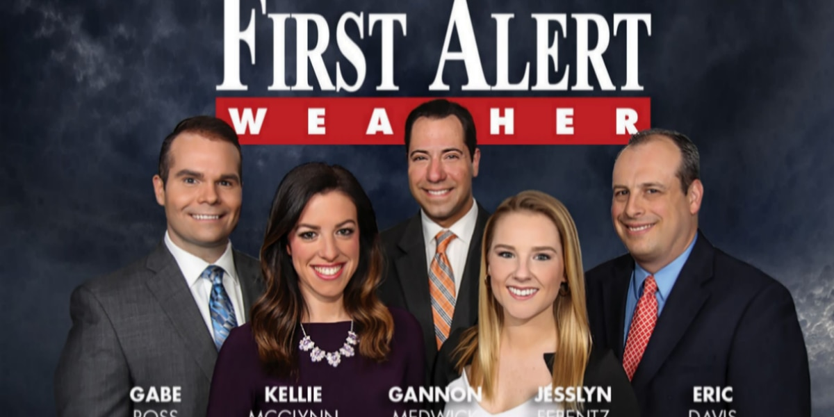 First Alert Forecast: strong cold front brings big temperature drop, wind chill
