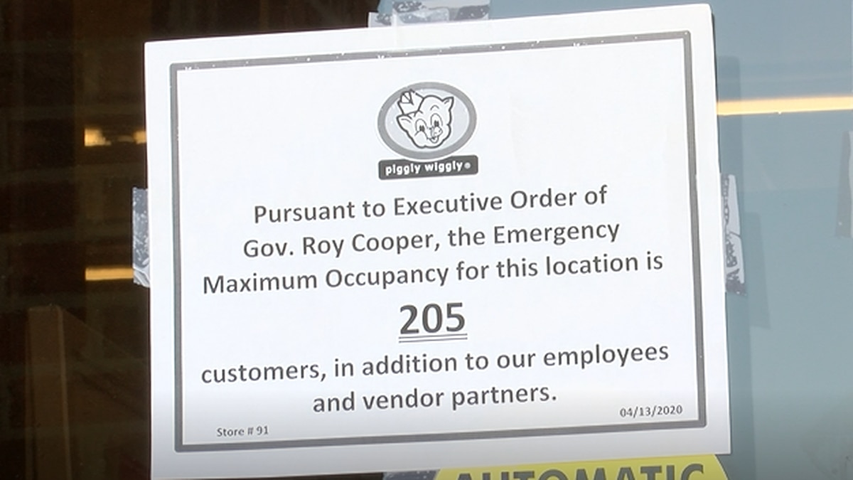 Stores prepare for Gov. Cooper's order to limit shoppers