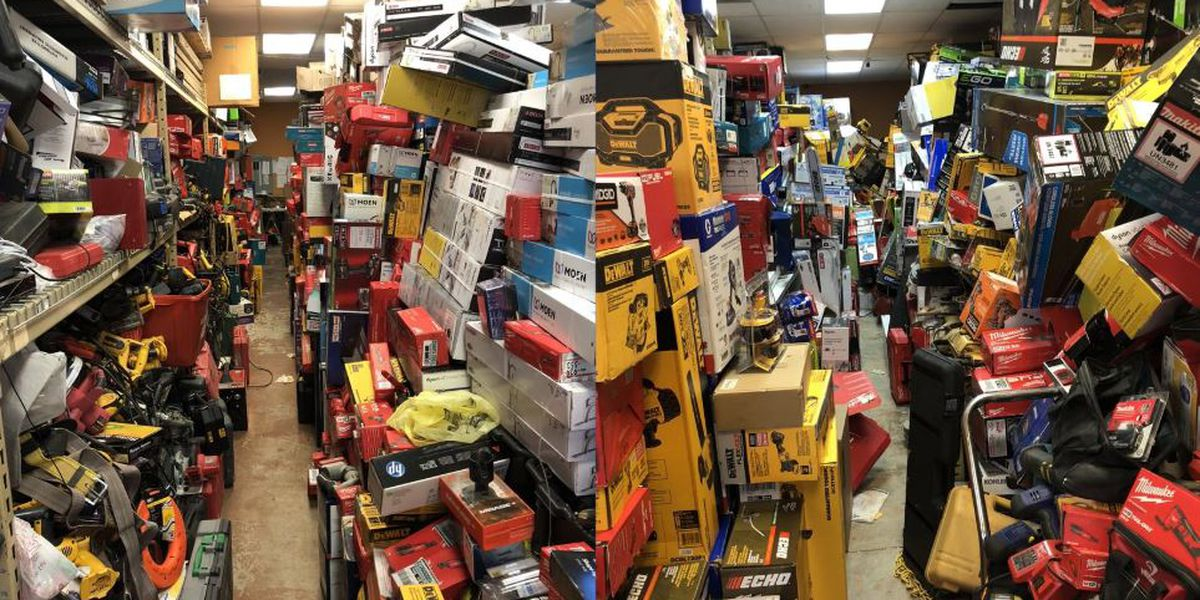 Man arrested for running eBay shop stocked with stolen tools out of Charlotte storage unit