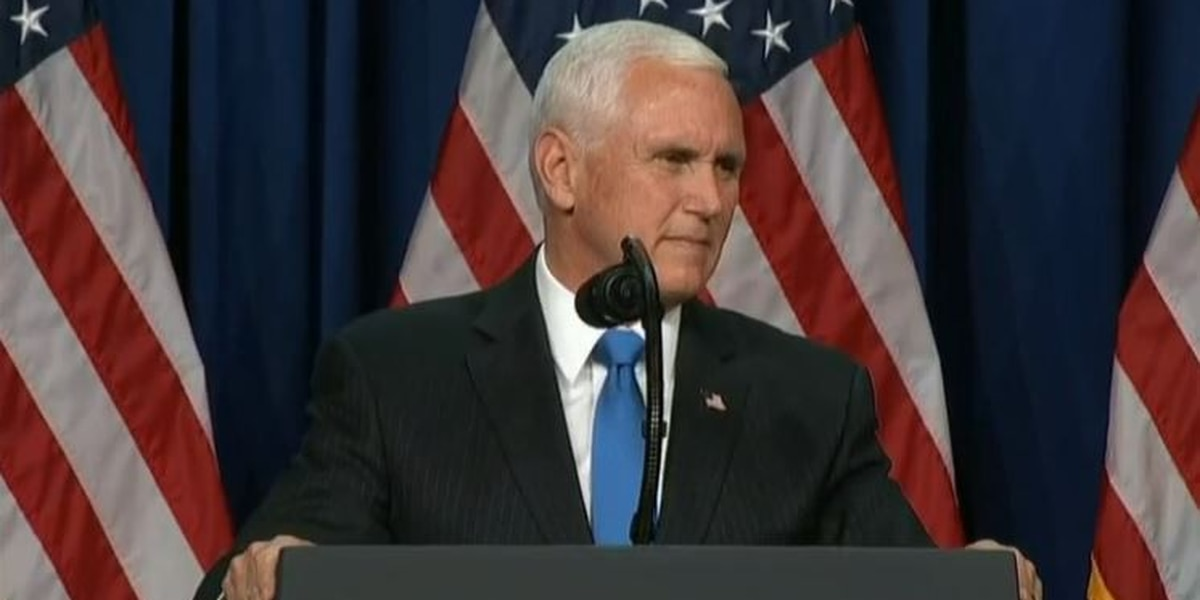 LIVE: Vice President Mike Pence holds rally at ILM