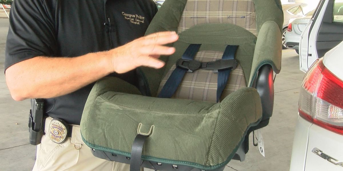 Child passenger safety seats damaged by hurricane to be replaced