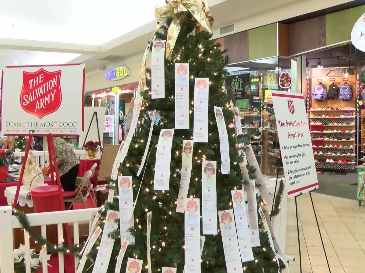 Angel Tree: Giving children in need the Christmas of their dreams