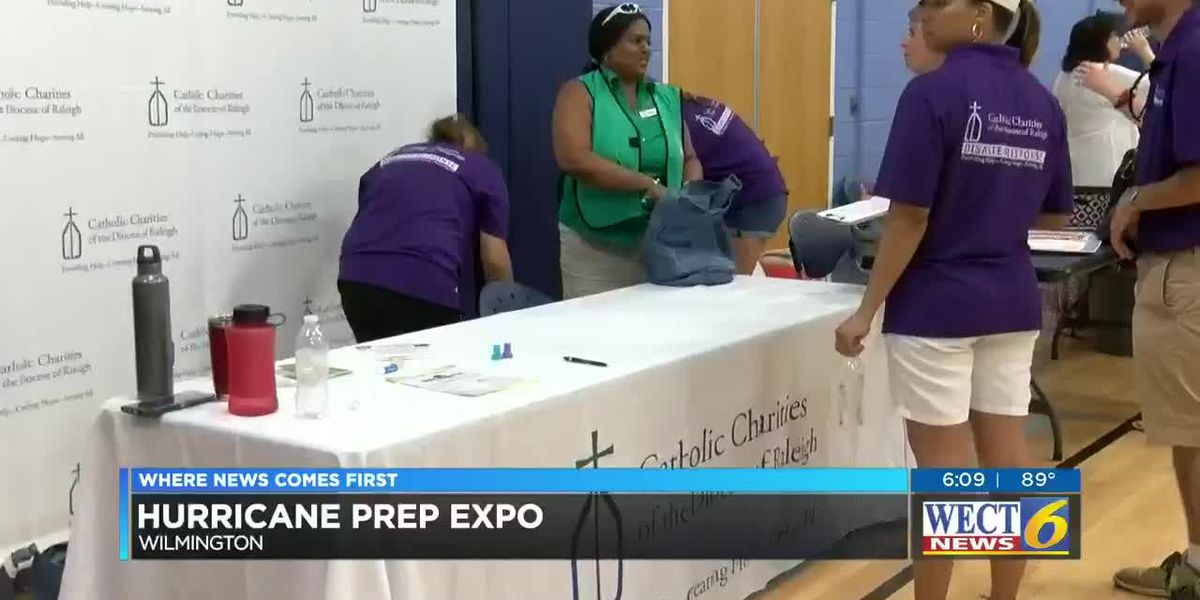 Hurricane Prep Expo held in Wilmington