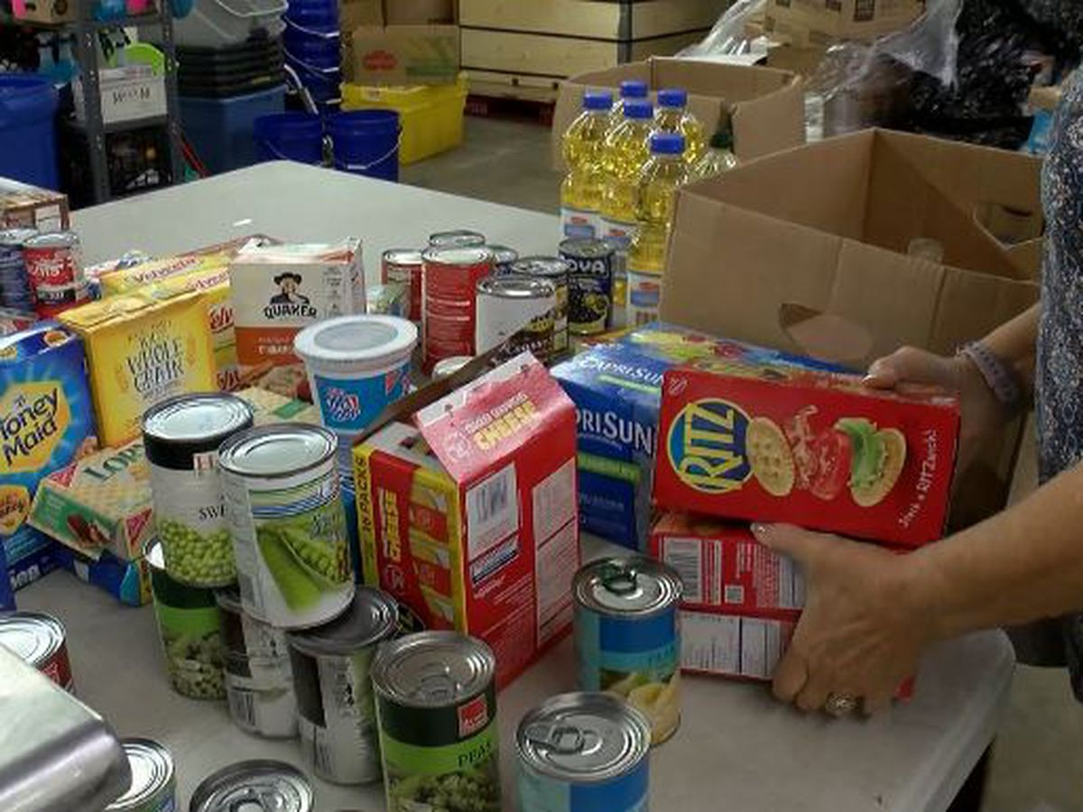 For the first time in their lives, some find themselves turning to a food bank