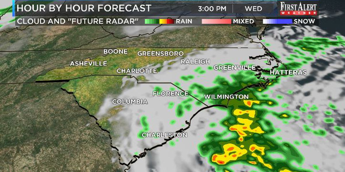 First Alert Forecast: spring to begin on a cool and showery note