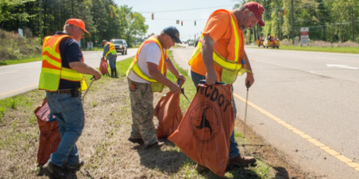 Roadside litter collection in NC soars past 5 million pounds