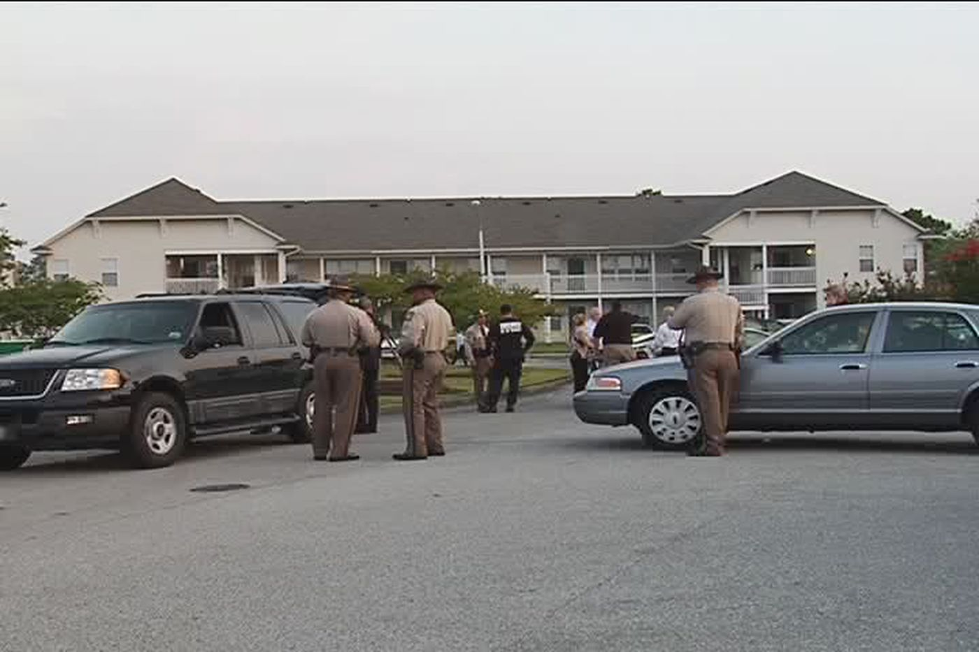 A New Hanover County Sheriff's office detention officer shot