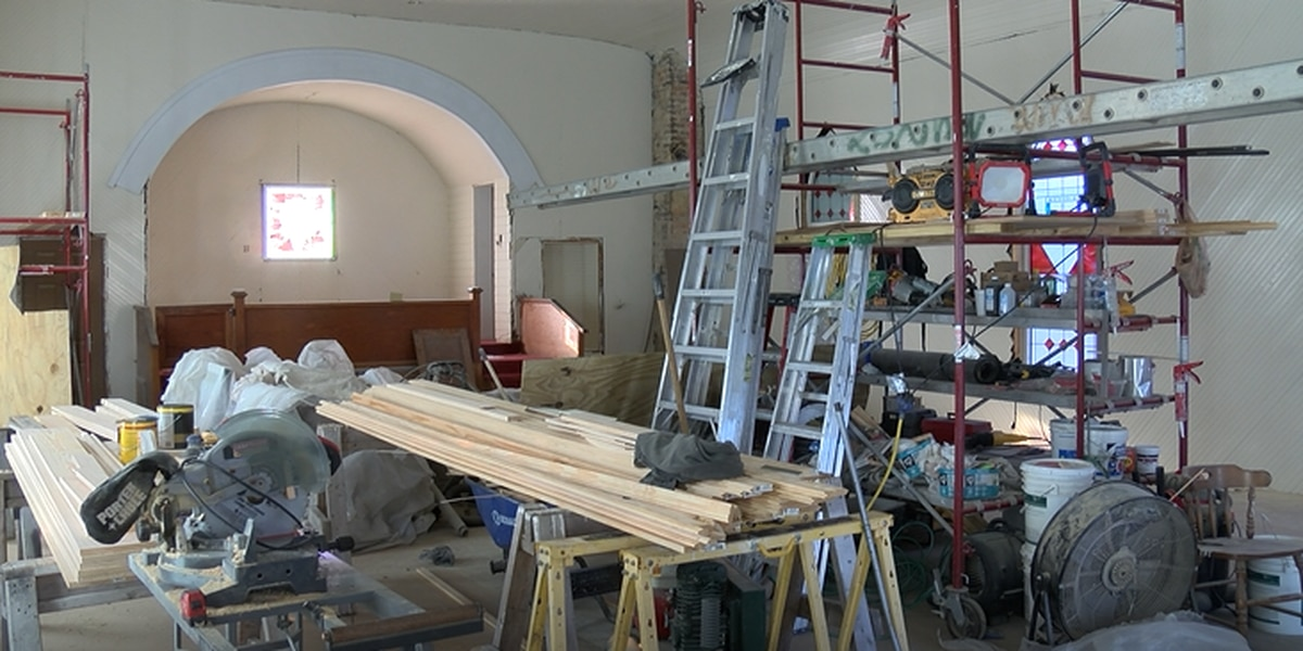 Oldest sanctuary in Southport still rebuilding after Hurricane Florence