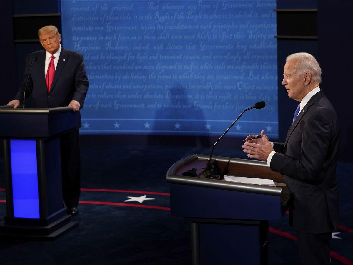 Cheerful Trump hits the trail, Biden tries debate cleanup