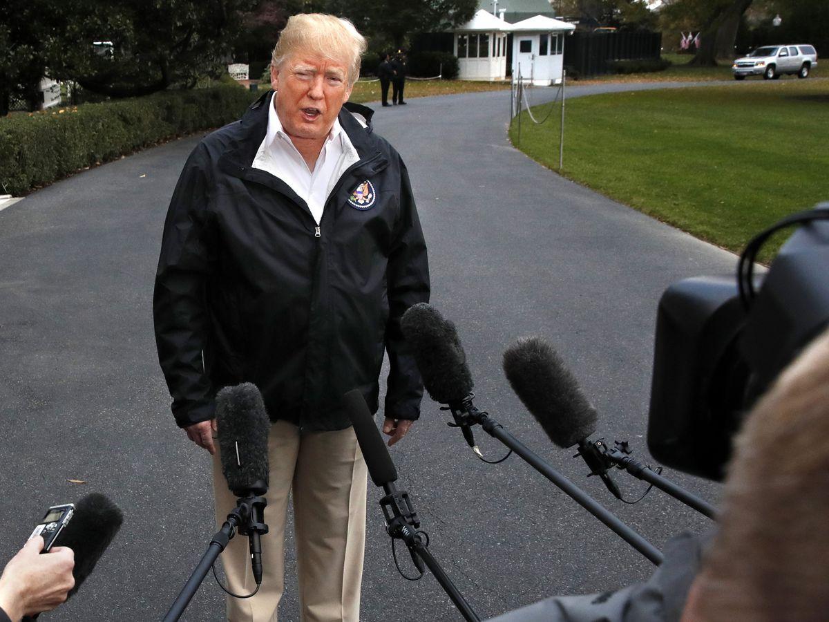 Trump says 'no reason' for him to hear Khashoggi death tape