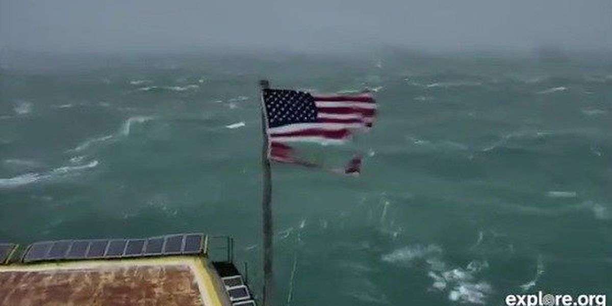 LIVE CAM: Frying Pan Tower off NC coast