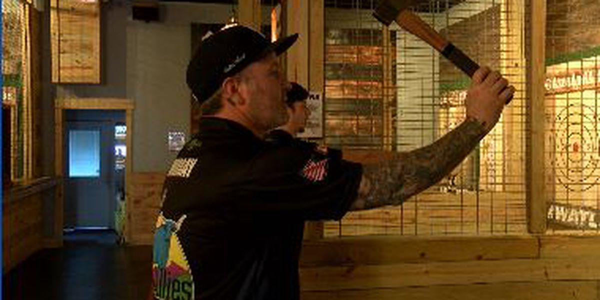 Two Wilmington Axe throwers ready to battle at World Championships