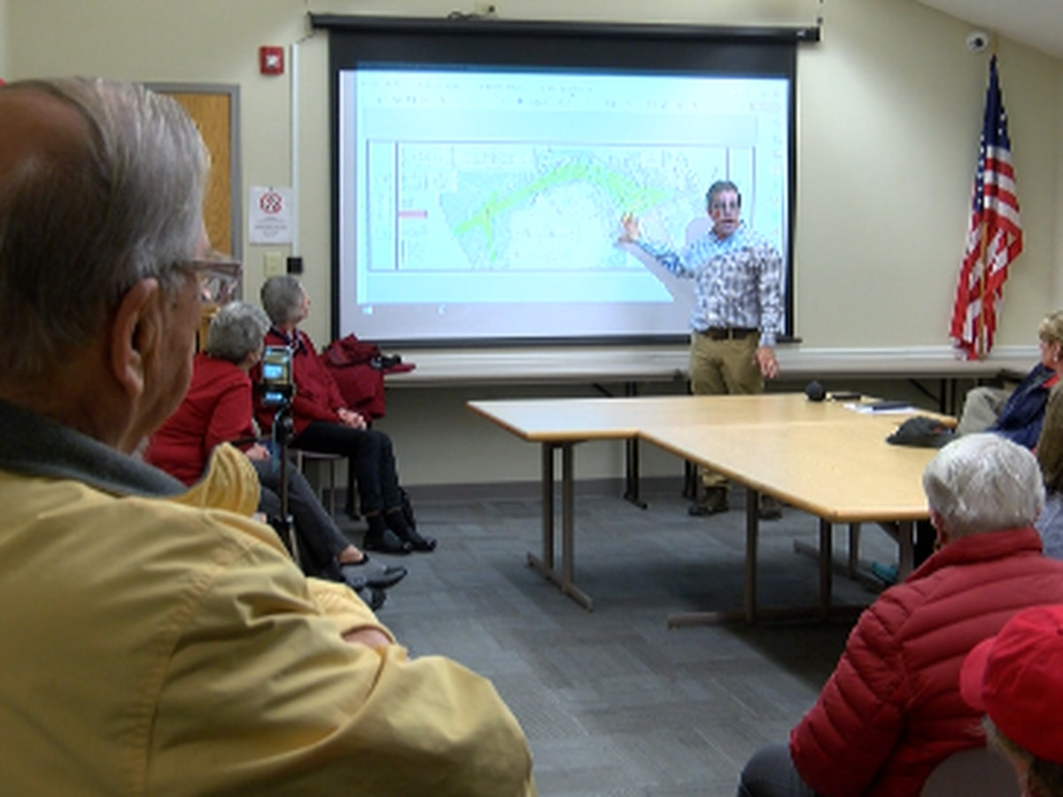 Hampstead residents voice criticism over proposed sand mine development at public hearing
