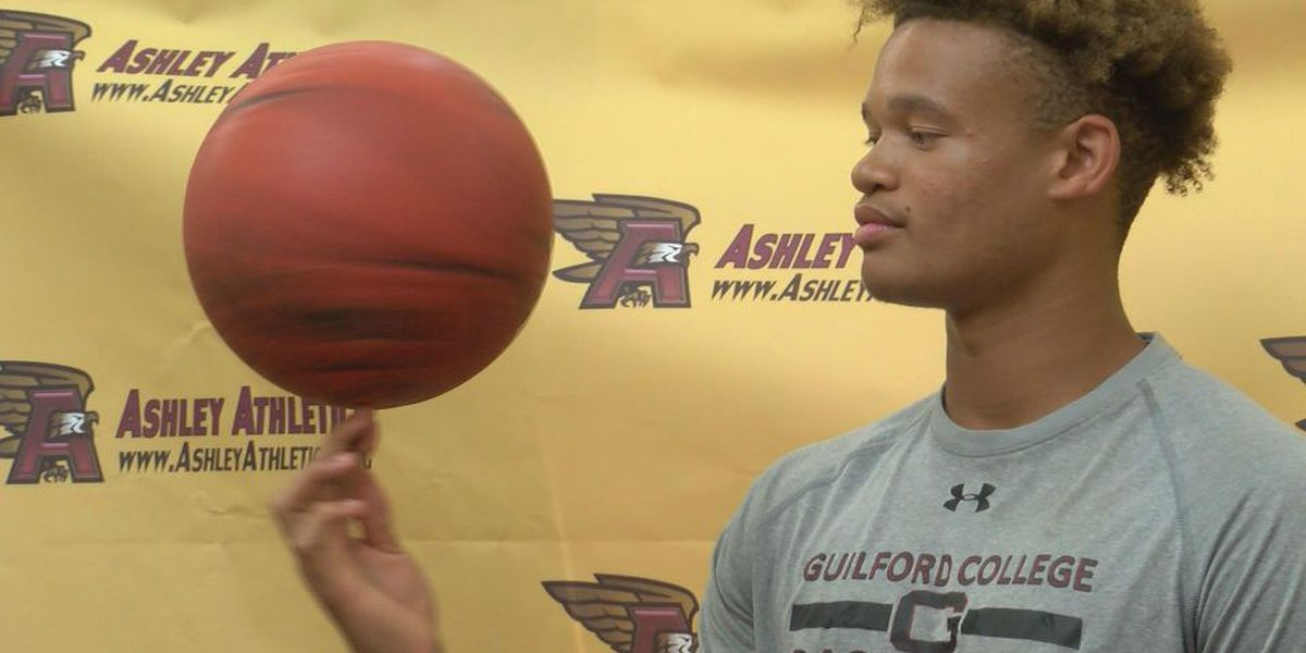 Ashley's Bryston Davis signs with Guilford
