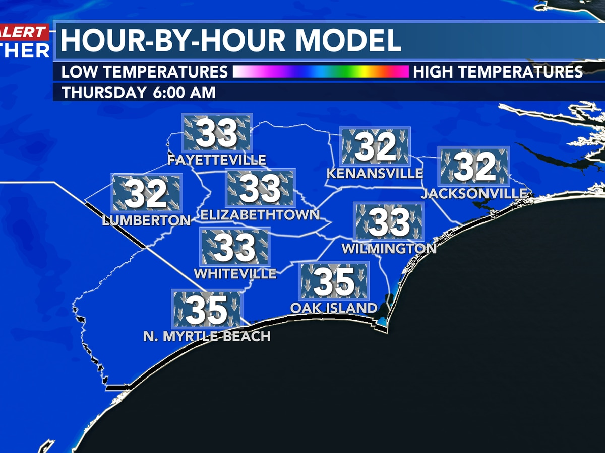First Alert Forecast: cold continues, rain chance to wrap up the week