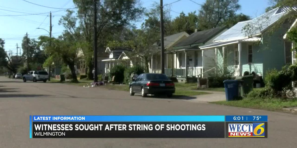 Police investigate recent string of shootings