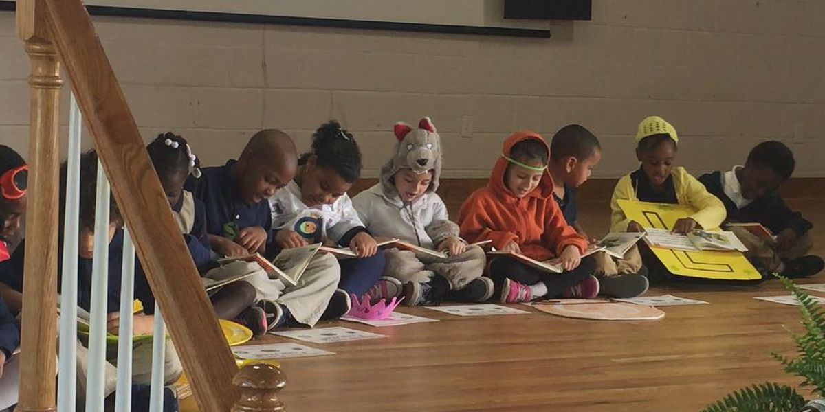 Douglass Academy hosts I Can Read ceremony for kindergarten students