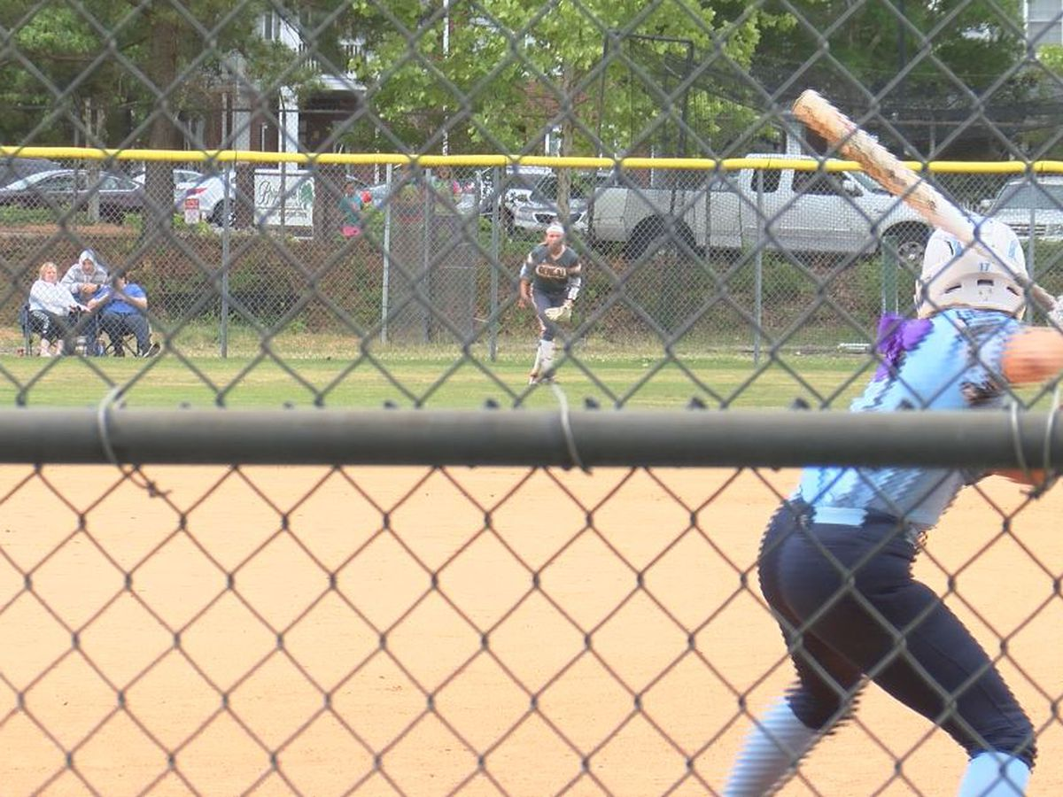 Hoggard makes a good start in the 4A Softball Championship Series Friday