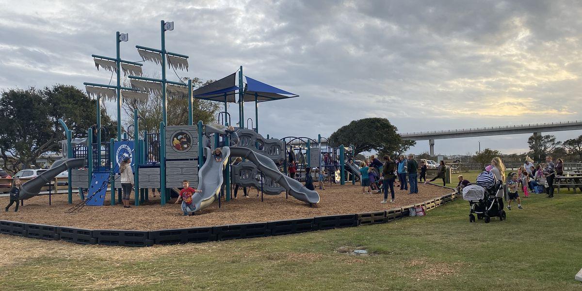 Soundside Park playground opens Monday