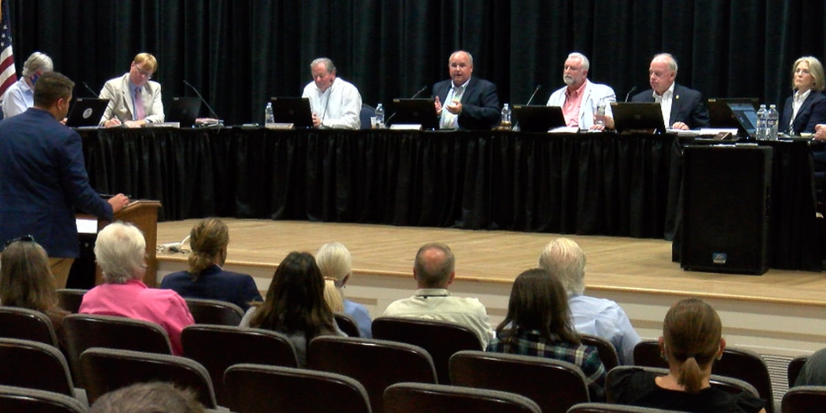 Public hearing for development on the east side of HWY 17 ends abruptly