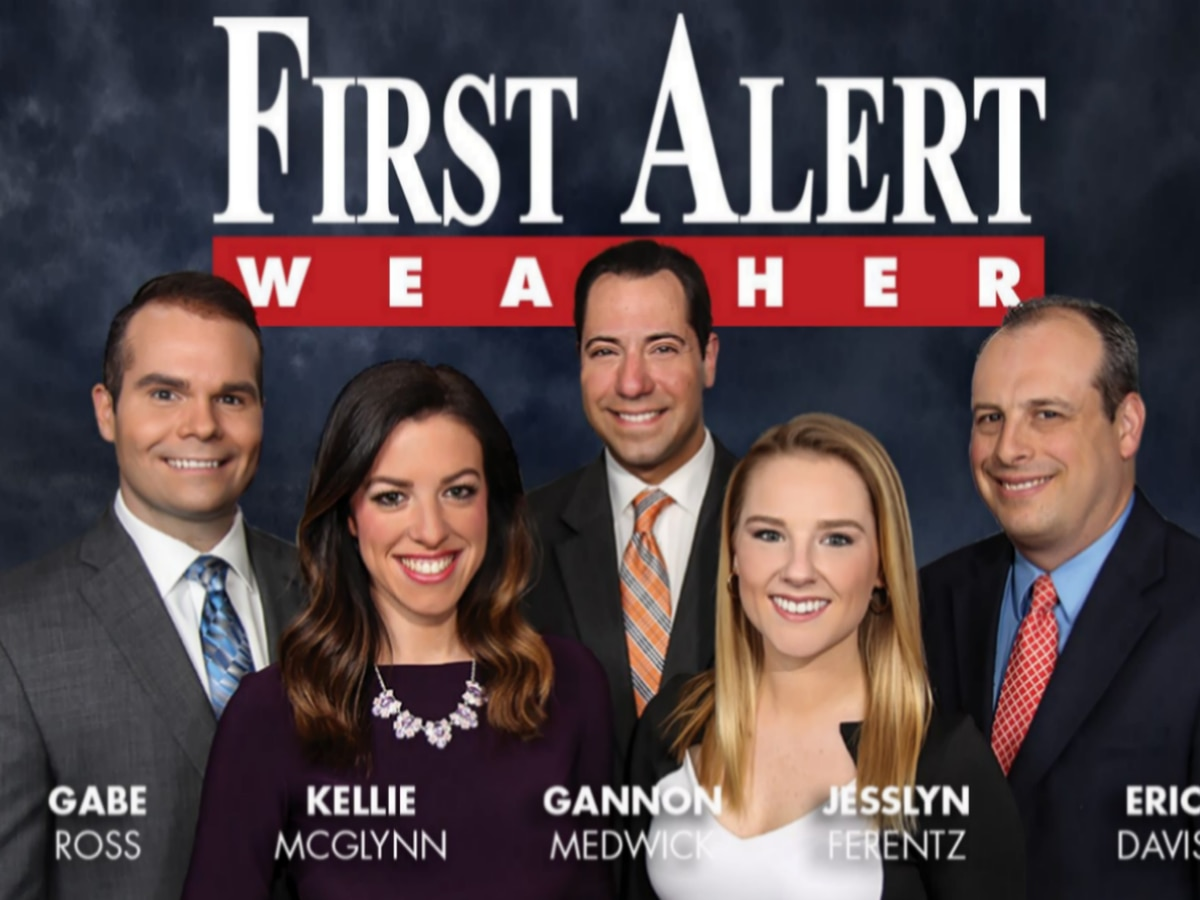 First Alert Forecast: short term warmth to gusty showers and falling temperatures