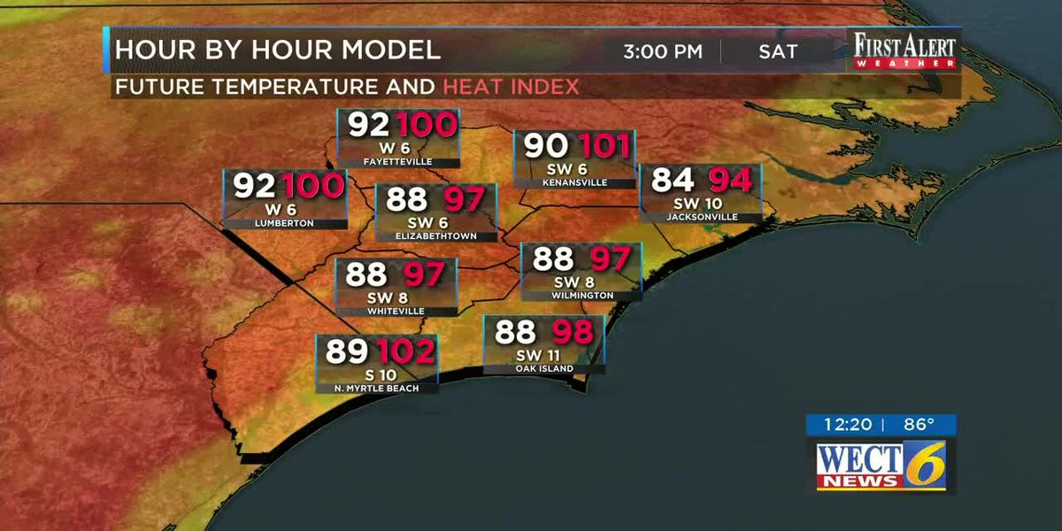 Your First Alert Forecast from Fri. Afternoon, Jul. 10, 2020