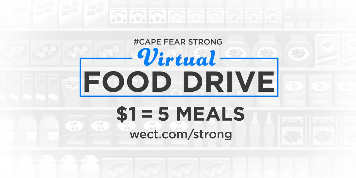 Cape Fear Strong Virtual Food Drive helps our neighbors in need