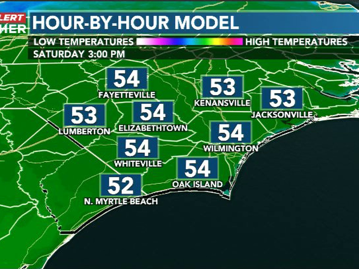 First Alert Forecast: chilly and breezy, but rain-free this weekend