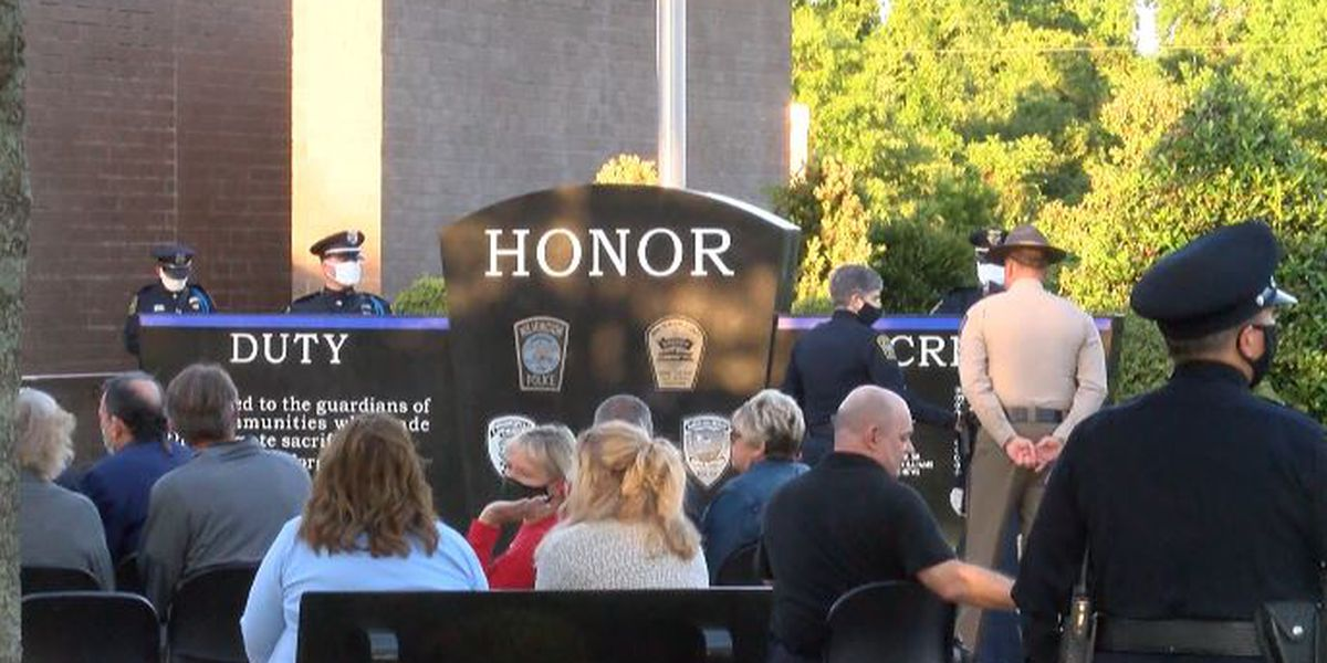 Wilmington Area Law Enforcement Ceremony remembers fallen officers